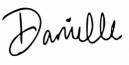 danielle signature